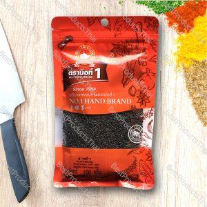 งาดำ 100% BLACK SESAME ขนาด 100 กรัม บรรจุซอง- BestProductsThai.com