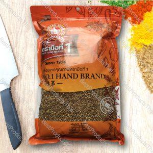 เม็ดผักชี หรือลูกผักชี 100% CORIANDER SEED ขนาด 1000 กรัม บรรจุซอง- BestProductsThai.com