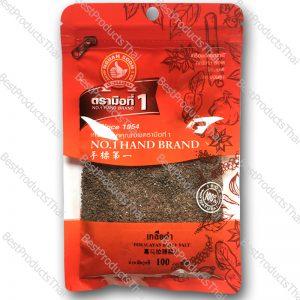 เกลือสีดำหิมาลายันเกล็ด 100% CRUSHED HIMALAYAN BLACK SALT ขนาด 100 กรัม บรรจุซอง- BestProductsThai.com