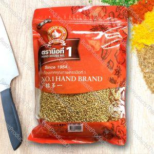 เม็ดผักชี หรือลูกผักชี 100% CORIANDER SEED ขนาด 500 กรัม บรรจุซอง- BestProductsThai.com