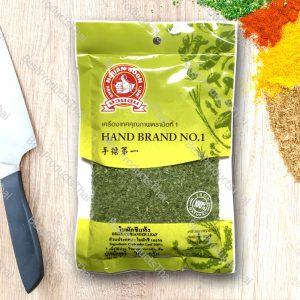 ใบผักชีแห้ง 100% DRIED CORIANDER LEAF ขนาด 20 กรัม บรรจุซอง- BestProductsThai.com