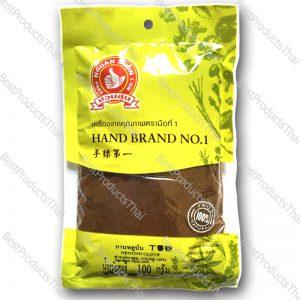 กานพลูป่น 100% GROUND CLOVE ขนาด 100 กรัม บรรจุซอง- BestProductsThai.com