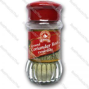 รากผักชีป่น 100% GROUND CORIANDER ROOT ขนาด 30 กรัม บรรจุขวดแก้ว- BestProductsThai.com
