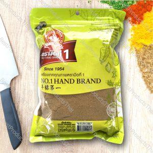 เม็ดผักชีป่น หรือลูกผักชีป่น 100% GROUND CORIANDER SEED ขนาด 500 กรัม บรรจุซอง- BestProductsThai.com