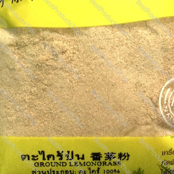 ตะไคร้ป่น 100% GROUND LEMONGRASS ขนาด 100 กรัม บรรจุซอง- BestProductsThai.com