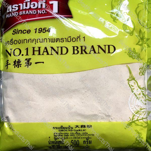 กระเทียมป่น 100% GROUND GARLIC ขนาด 500 กรัม บรรจุซอง- BestProductsThai.com