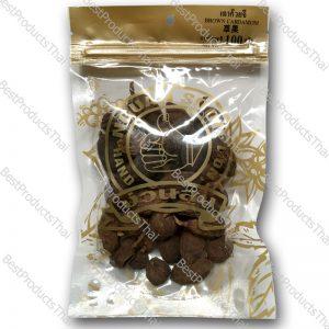 เฉาก๊วยจี้ 100% BROWN CARDAMON ขนาด 100 กรัม บรรจุซอง- BestProductsThai.com