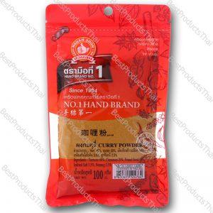ผงกะหรี่ 100% CURRY POWDER ขนาด 100 กรัม บรรจุซอง- BestProductsThai.com