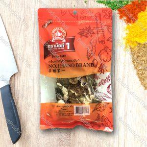 ผิวมะกรูดอบแห้ง 100% DRIED KAFFIR LIME SKIN ขนาด 50 กรัม บรรจุซอง- BestProductsThai.com