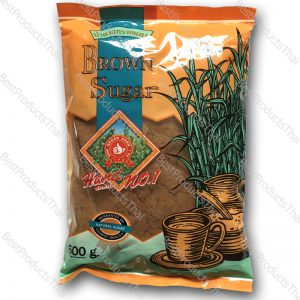น้ำตาลทรายแดง 100% BROWN SUGAR ขนาด 500 กรัม บรรจุซอง- BestProductsThai.com