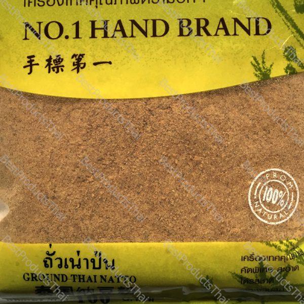 ถั่วเน่าป่น 100% GROUND THAI NATTO ขนาด 100 กรัม บรรจุซอง- BestProductsThai.com