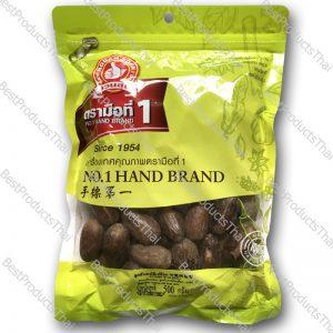 ลูกจันทน์มีเปลือก 100% NUTMEG WITH SHELL ขนาด 500 กรัม บรรจุซอง- BestProductsThai.com