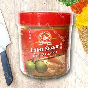 น้ำตาลปี๊บ PALM SUGAR ขนาด 500 กรัม บรรจุขวดพลาสติก- BestProductsThai.com